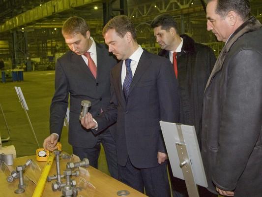 Рабочая поездка президента рф д медведева в курган