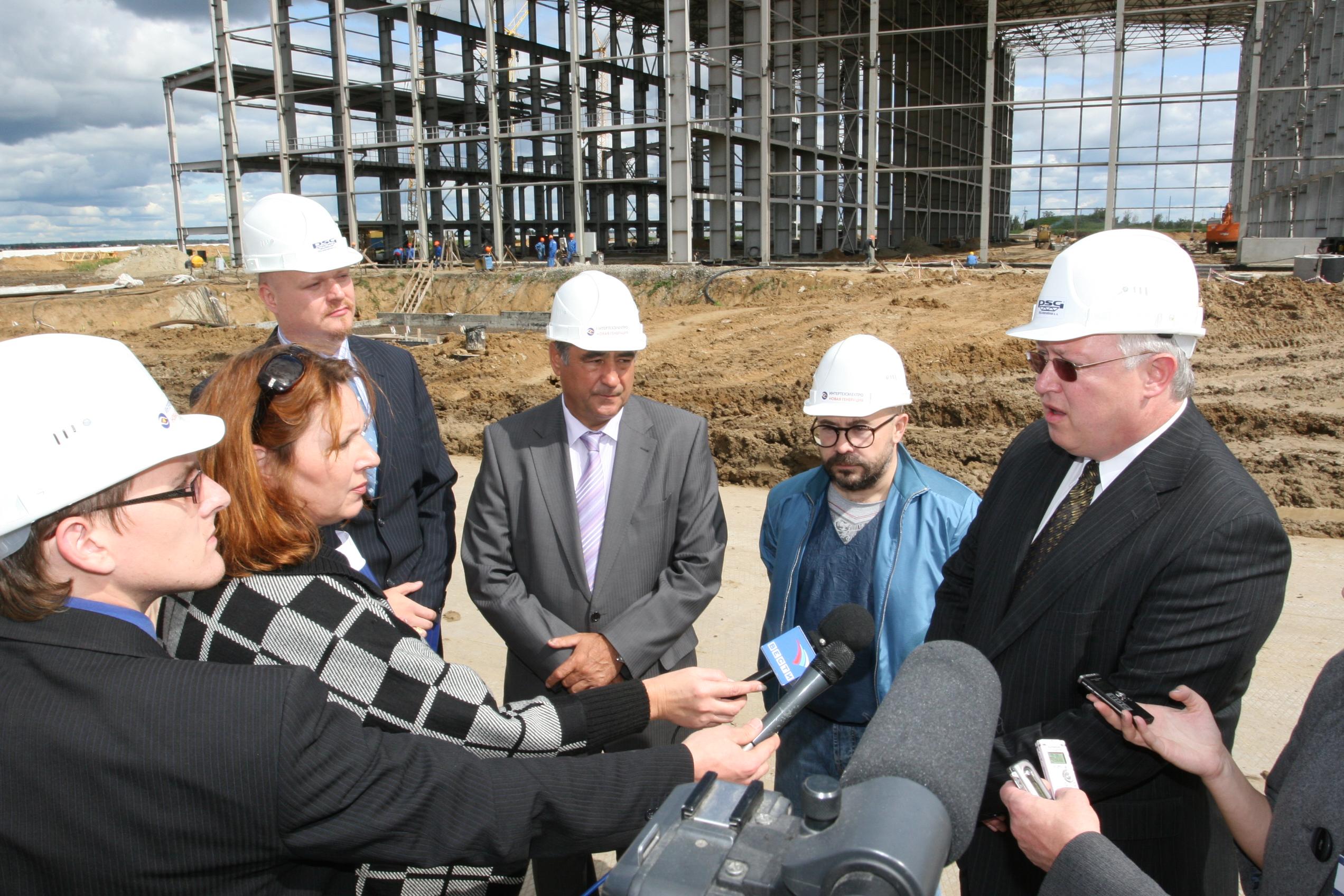 Округа дмитрий кобылкин в рамках рабочего визита в курганскую область посетил площадку строительства тэц-2